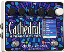 Electro Harmonix Cathedral Stereo Reverb Guitar Pedal Stomp Box